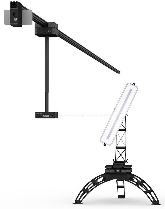 Labrail with LabSpion goniometer