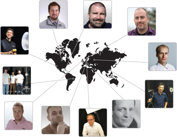 clients around the world