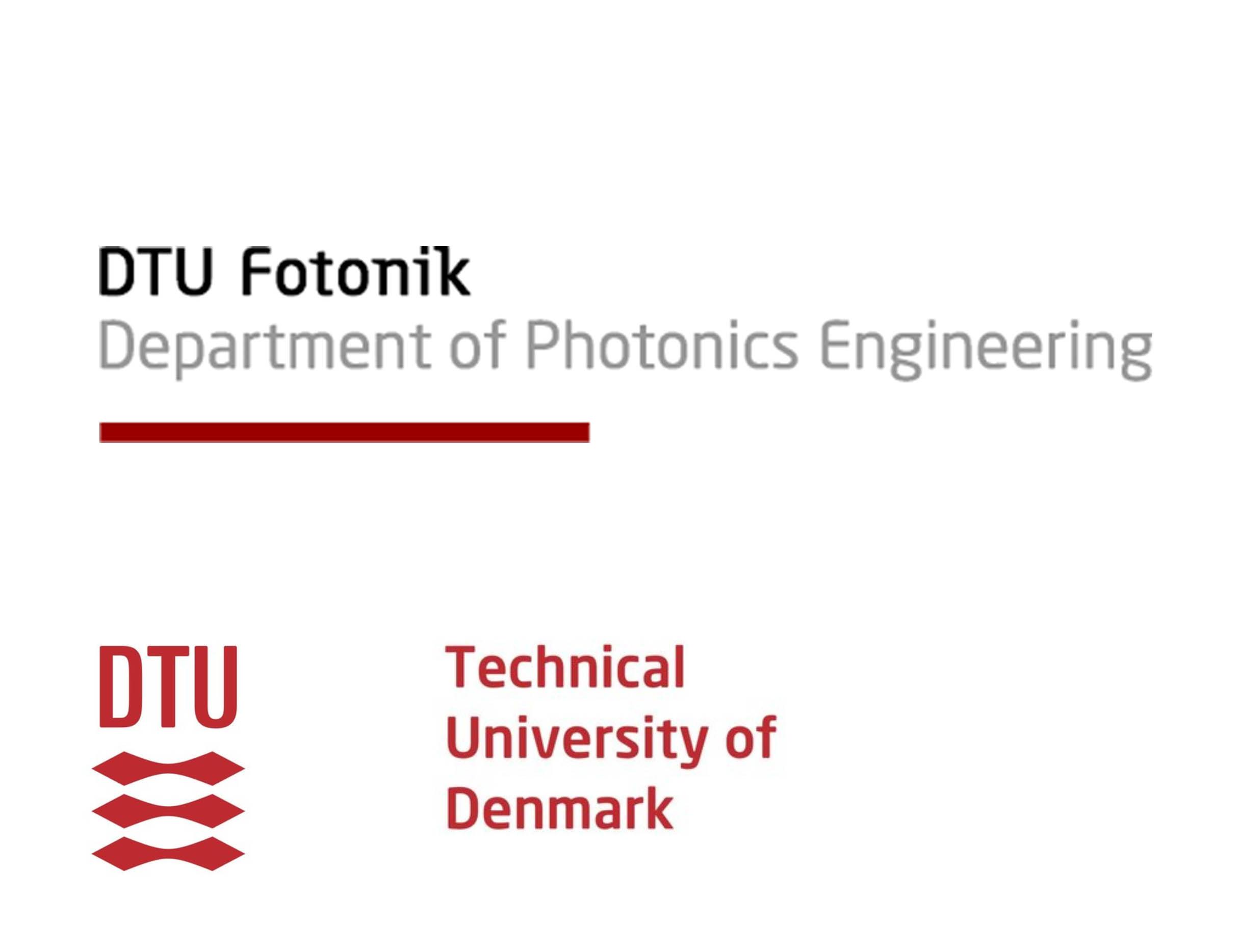 DTU Fotonik logo