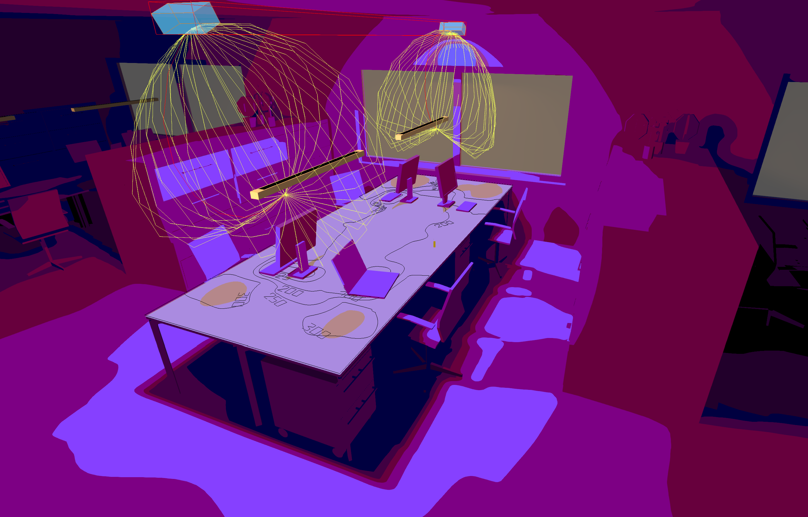 Dialux Evo simulation